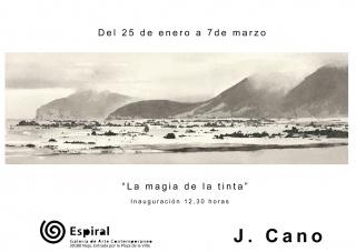 Joaquín Cano Quintana. La magia de la tinta - Invitación