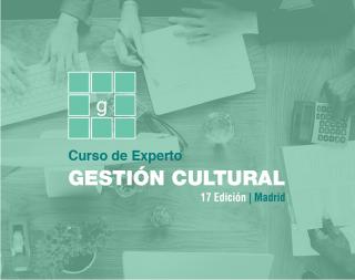 Curso de Experto en Gestión Cultural | 17ª edición. Presencial (Madrid)