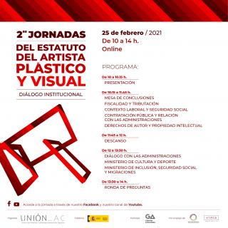 II Jornadas sobre el Estatuto del Artista Plástico y Visual: Diálogo Institucional