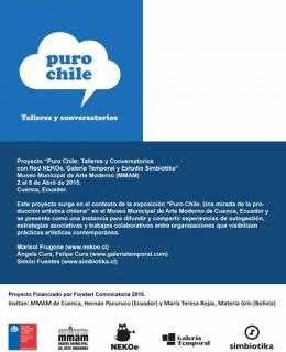 Puro Chile Talleres y Conversatorios
