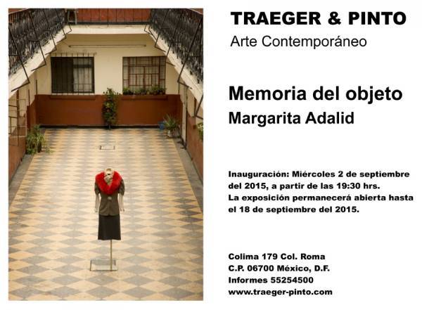 Margarita Adalid, Memoria del Objeto