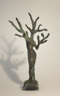Sin Título I, bronce 20 x 10 x 4 cm
