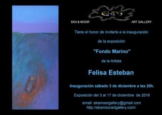 Felisa Esteban, Fondo Marino