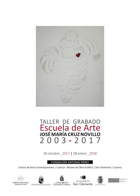 Taller de Grabado · Escuela de Arte José María Cruz Novillo · 2003-2017