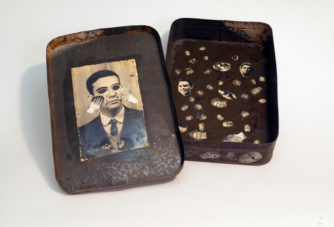 Jorge Alberto Hernández Cadi (El Buzo), Untitled, Mixed media, No Date, Photo Courtesy of NAEMI.