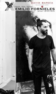 """Emilio Fornieles presenta """"Diez, Ten, Zehn"""" en la Galería David Bardía"""
