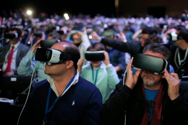 Público con gafas - Cortesía de Seminci Transmedia