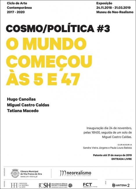 Cosmo/Política #3: O mundo começou às 5 e 47