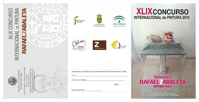 XLIX Concurso Internacional de Pintura. Homenaje a Rafael Zabaleta 2019