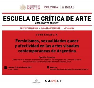 Feminismos, sexualidades queer y afectividad en las artes visuales contemporáneas de Argetnina