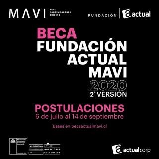 Beca Fundación Actual MAVI