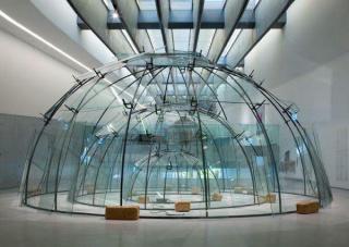 Senza titolo (Triplo igloo), 1984-2002. Mario Merz. Fondazione MAXXi — Cortesía del IVAM