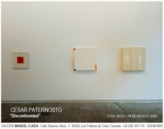 Cesar Paternosto. Discontinuidad