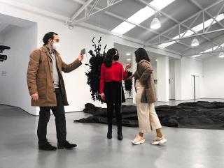 Begoña Cid presenta Galería Sabrina Amrani en PARKOURS 3.0_Primer recorrido
