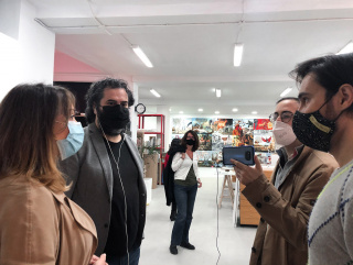 PARKOURS3_Recorrido1_Espacio3: Javier Erre presenta Proyectos Corner