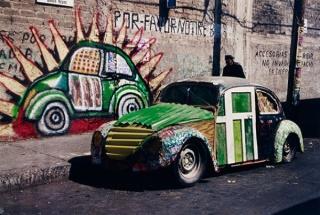 Betsabeé Romero, Autoconstruido, 2000. Cortesía del Kunstmuseum Bern