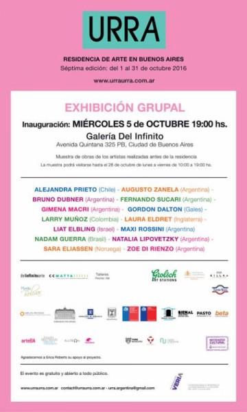Residencia de arte en Buenos Aires. Séptima edición