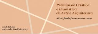 Prémio de crítica e ensaística de arte e arquitetura
