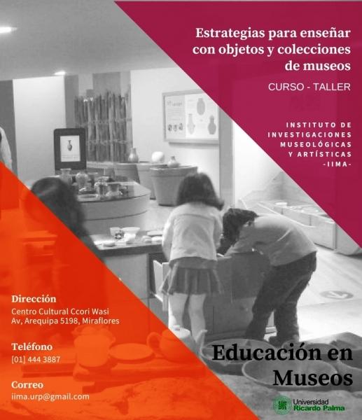 Seminario Taller: Estrategias para enseñar con objetos y con las colecciones de Museos