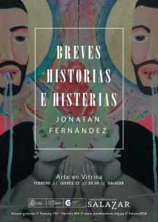 BREVES HISTORIAS E HISTERIAS. Imagen cortesía Centro Cultural de España Juan de Salazar