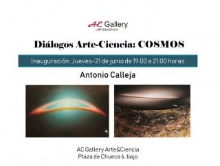 Antonio Calleja. Diálogos Arte-Ciencia: Cosmos