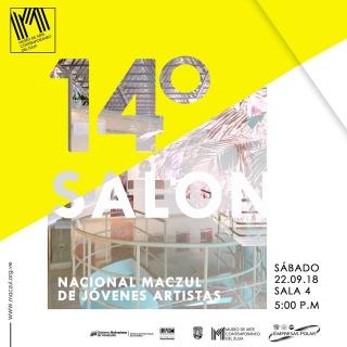 14 Salón Nacional de Jóvenes Artistas MACZUL
