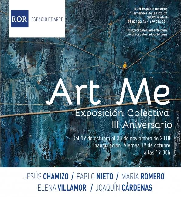Invitación Art Me