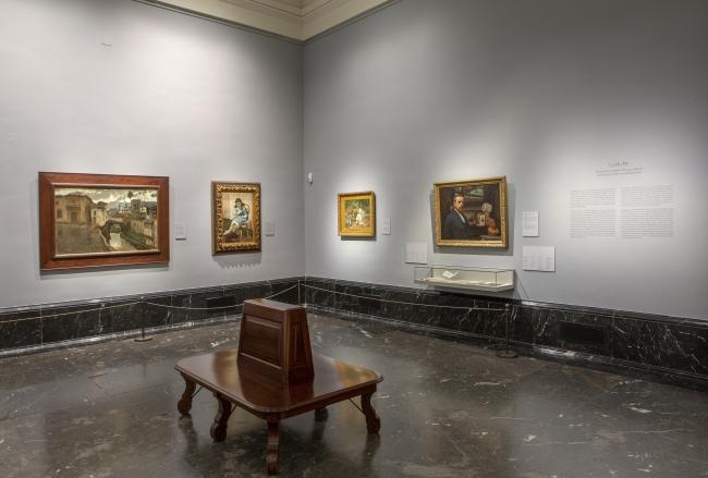 Imagen de la sala con las obras de la donación. Foto © Museo Nacional del Prado — Cortesía del Museo del Prado