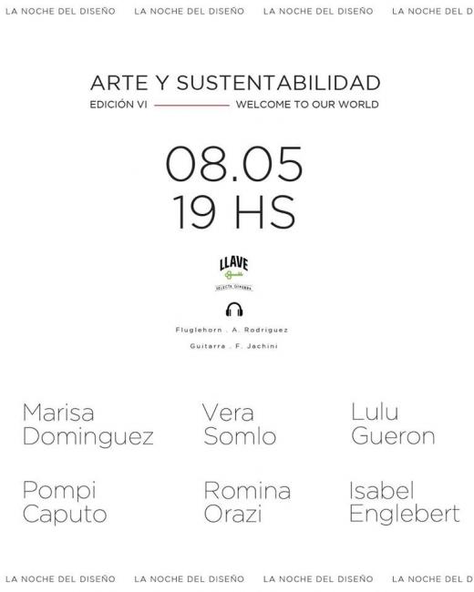 Arte y sustentabilidad edición VI