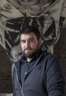 """Carlos Ramírez """"Zorromono"""" en el Lavadero de Viniegra de Abajo (Foto: Gabriel Santolaya)"""