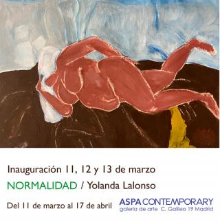 ASPA Contemporary - normalidad - yolanda lalonso