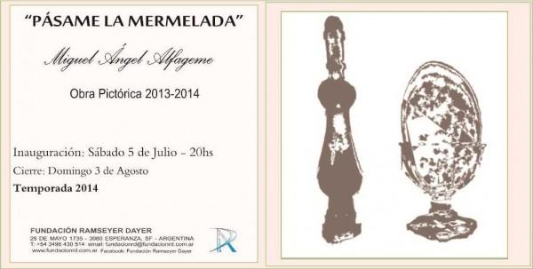 José María Alfageme, Pásame la mermelada