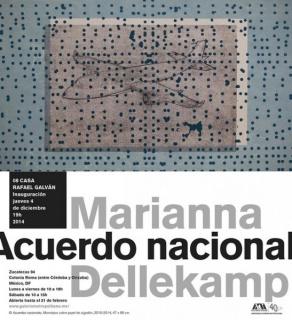 Marianna Dellekamp, Acuerdo nacional