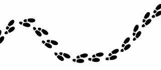 Camino de huellas