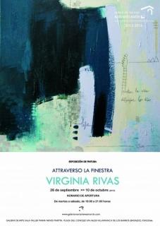 Virginia Rivas, Attraverso la finestra