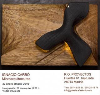 Ignacio Carbó, Microarquitecturas