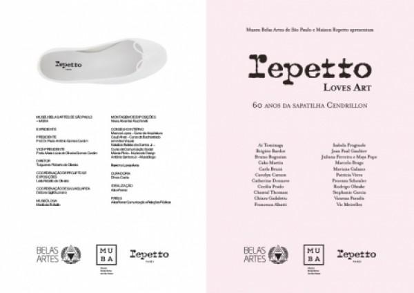 Repetto Loves Art