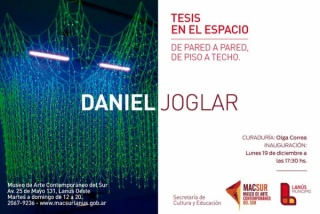 Daniel Joglar, Tesis en el espacio