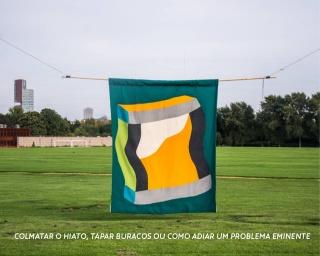 Hugo Brazão. Colmatar o hiato, tapar buracos, ou como adiar um problema eminente - Cortesía de MUDAS. Museu de Arte Contemporânea da Madeira