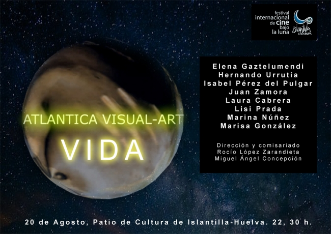 Cartel de Atlantica Visual Art - Cortesía de Atlantica Visual Art