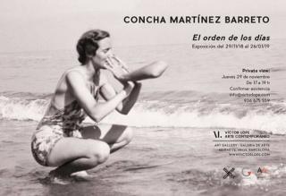 Concha Martínez Barreto. El orden de los días