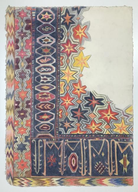 Estrellas, Albacete s.XV. 2004. Cortesía de la Galería Espacio Mínimo