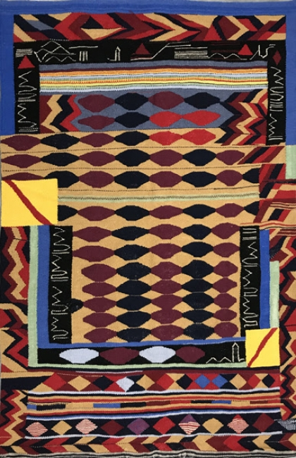TERESA LANCETA - La Orden de la Banda-multiplicada. 2004 — Cortesía de la Galería Espacio Mínimo