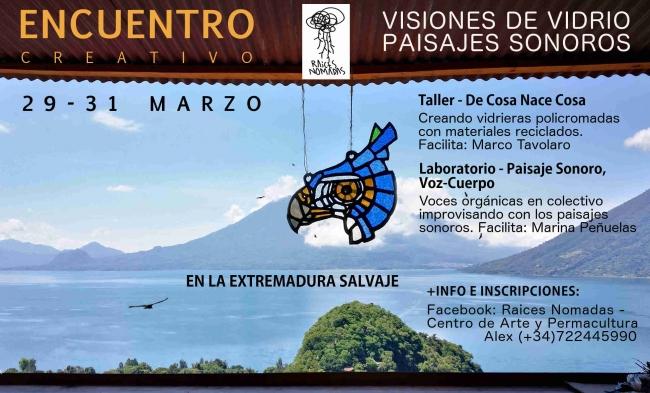 Encuentro Creativo: Visiones de Vidrio, Paisaje Sonoro