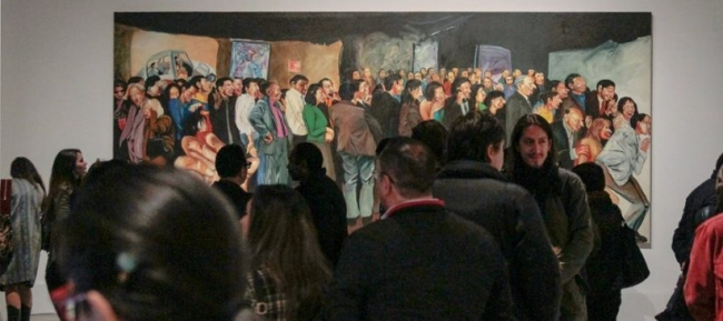Amarillo, Azul y Roto. Años 90: arte y crisis en Ecuador