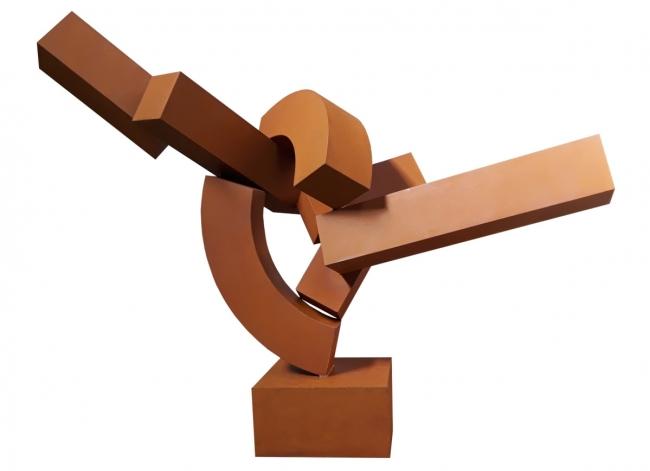 Piedra, metal o madera — Imagen cortesía de la Galería Cornión