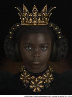 Adriana Duque: Grazia, Série Renascimento, 2019, impressão fotográfica, 178x135 cm. — Cortesía de Zipper Galeria