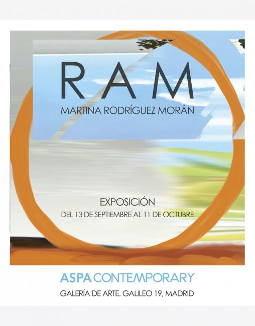 RAM, de Martina Rodríguez Morán en ASPA Contemporary