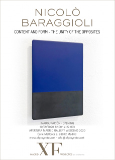 Nicoló Baraggioli. Content and form - The unity of the opposites