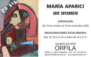 flyer María Aparici